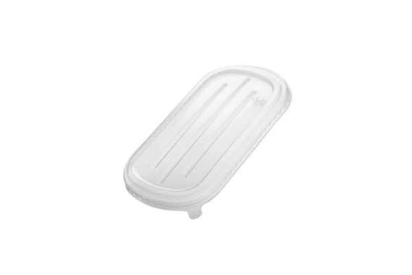 PP Lid for M/W Food Container 500-700ml, Rectangular | TESSERA Bio Products®