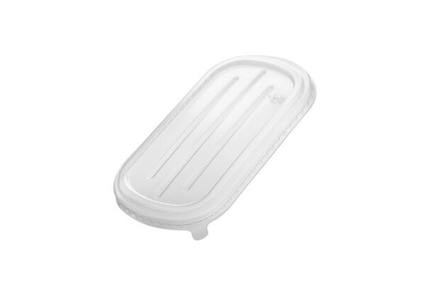 PP Lid for M/W Food Container 850-1000ml, Rectangular | TESSERA Bio Products®