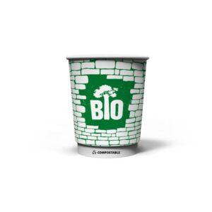 Χάρτινα Ποτήρια 8οz Brick Wall Waterbased