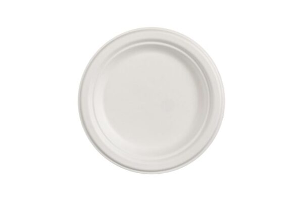 Πιάτο Στρογγυλό Ø 23 cm, Ζαχαροκάλαμο | TESSERA Bio Products®