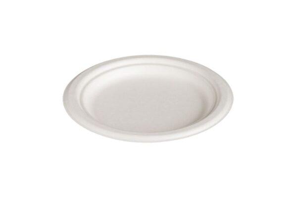 Sugarcane Plate Ø 23 cm, Round | TESSERA Bio Products®