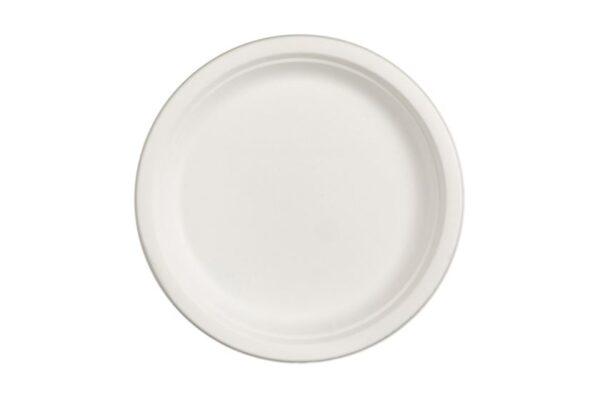 Πιάτο Στρογγυλό Ø 25.5 cm, Ζαχαροκάλαμο | TESSERA Bio Products®