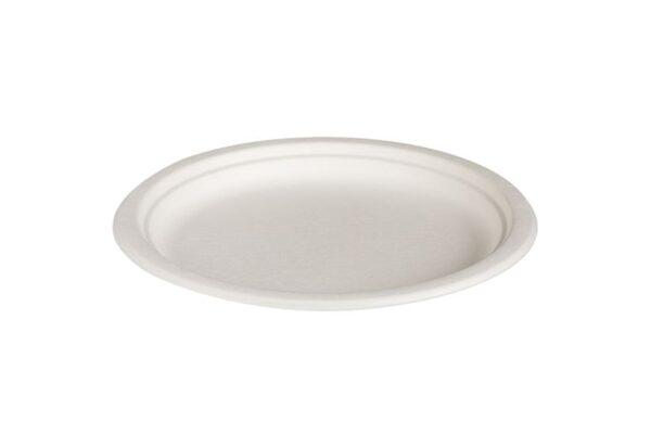 Sugarcane Plate Ø 25.5 cm, Round | TESSERA Bio Products®