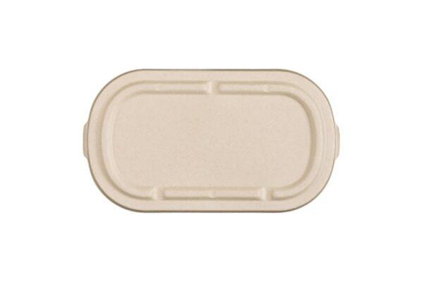 Καπάκι Ζαχαροκάλαμο για Σκεύη Φαγητού Μ/W 850-1000ml | TESSERA Bio Products®