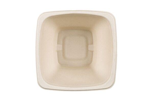 Σκεύος Σαλάτας Τετράγωνο 1250ml, Ζαχαροκάλαμο | TESSERA Bio Products®