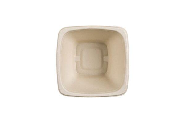 Sugarcane Salad Bowl 1000ml, Square | TESSERA Bio Products®