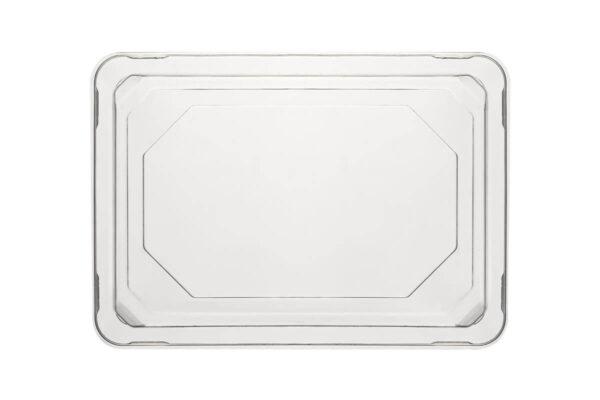 Zuckerrohr – Sushi Tray Nr. 8 mit klarem PET – Deckel 16,5 x 11,5 x 2,1 cm | TESSERA Bio Products®