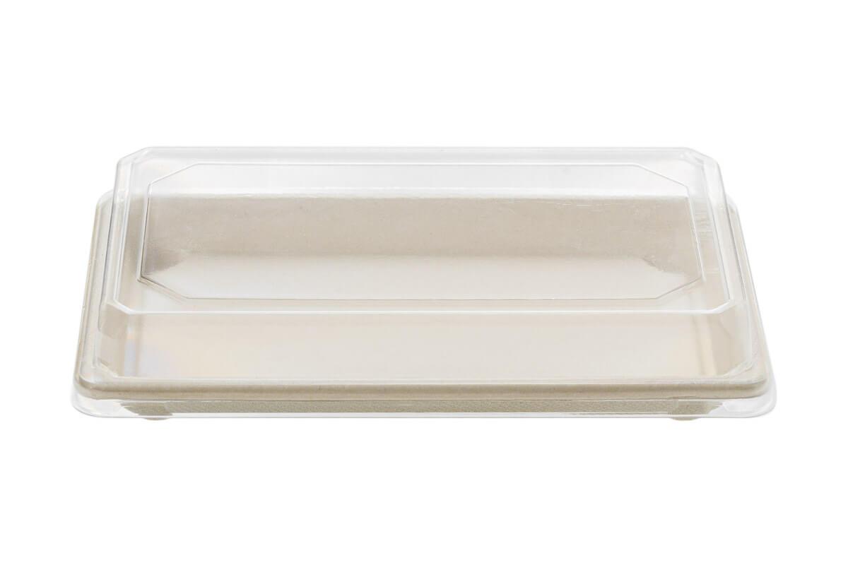Σκεύος Σούσι από Ζαχαροκάλαμο Ν.10 με Καπάκι RPET | TESSERA Bio Products®