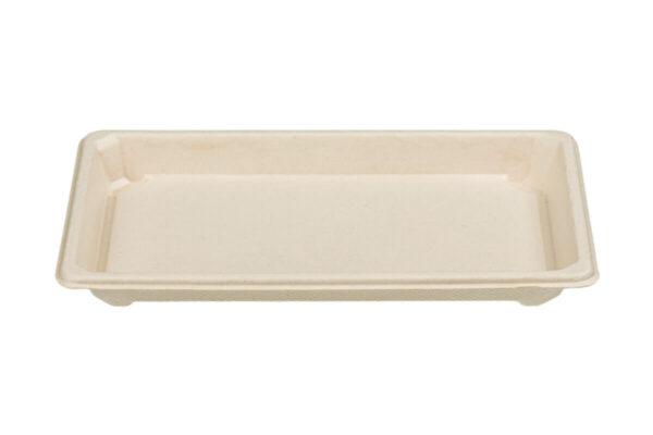 Σκεύος Σούσι από Ζαχαροκάλαμο Ν.10 με Καπάκι RPET   TESSERA Bio Products®