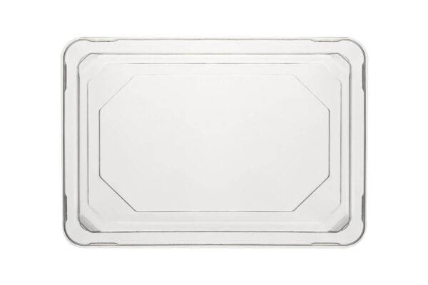 Zuckerrohr – Sushi Tray Nr. 4 mit klarem PET – Deckel 18,5 x 12,8 x 2,1 cm | TESSERA Bio Products®