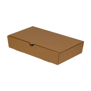 Χάρτινο Kraft Κουτί Φαγητού Παραλληλόγραμμο, Μεσαίου Μεγέθους, 27x15,5x5 cm