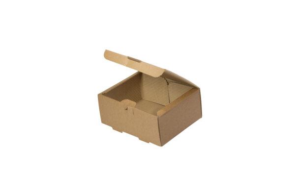 Δίφυλλο Χάρτινο Κουτί Φαγητού Kraft Club Sandwich