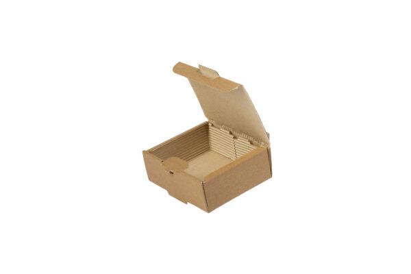 Δίφυλλο Χάρτινο Κουτί Φαγητού Kraft Διπλής Πατάτας