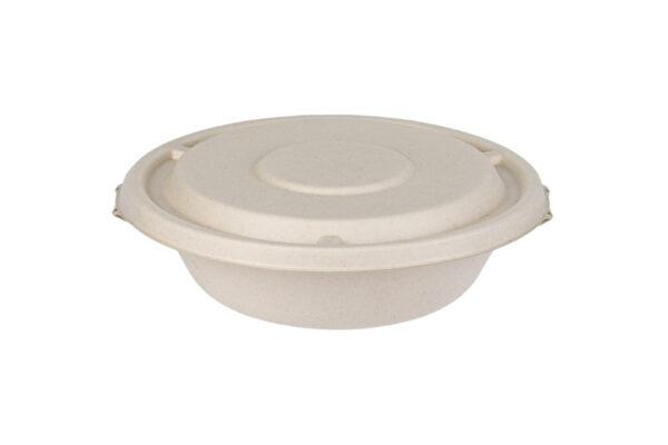 Καπάκι Safelock για Σκεύη Σαλάτας από Ζαχαροκάλαμο 750-1000ml | TESSERA Bio Products®